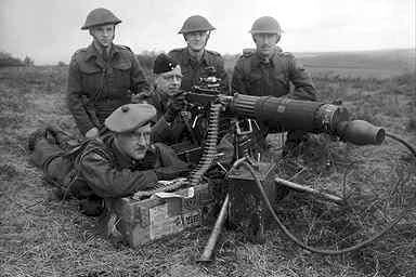 Machine Guns World War