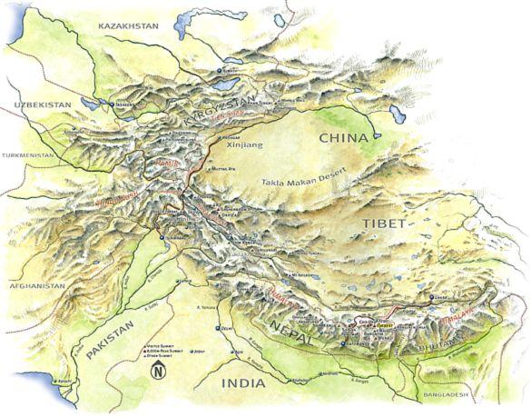 Tinutul zapezilor este numele dat de nepalezi muntilor Himalaya. www.mixdecultura.ro.